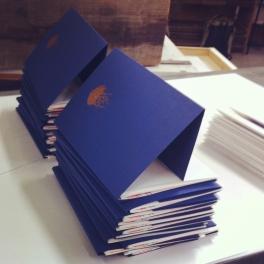 Livre imprimé en 30 exemplaires