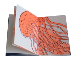 Linogravure & sérigraphie.